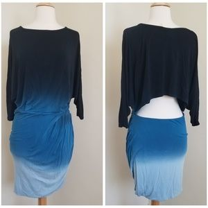 YFB Young Fabulous & Broke Blue Ombre Dress